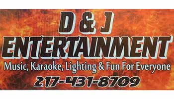 D And J Entertainment Logo