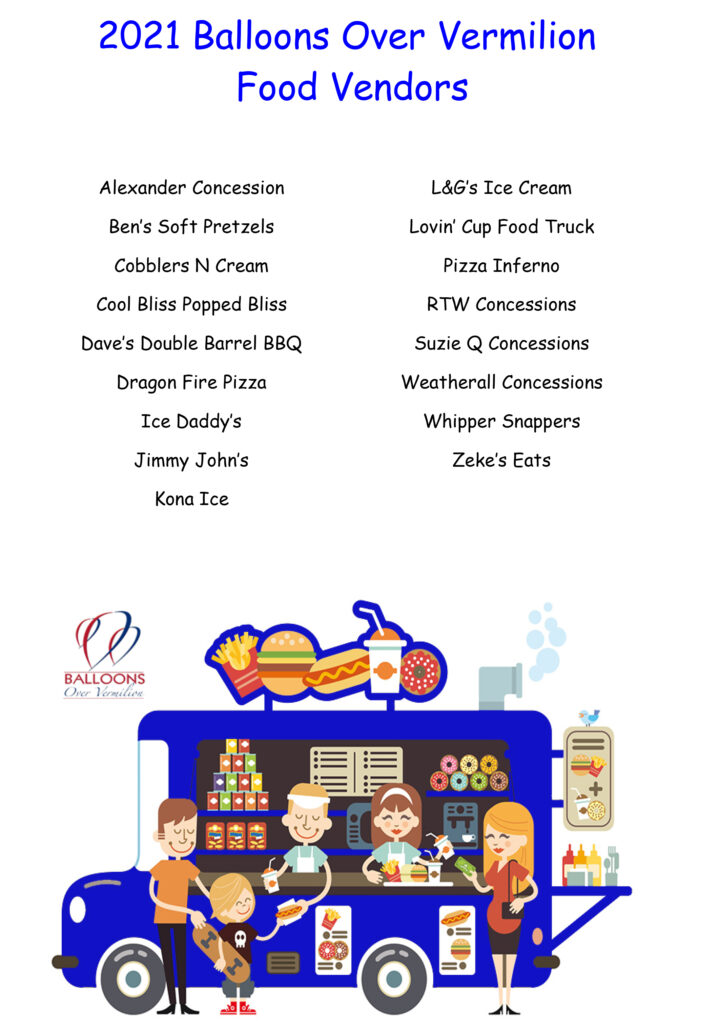 2021 BOV Food Vendors With Truck