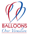 Balloons Over Vermilion Logo Transparent